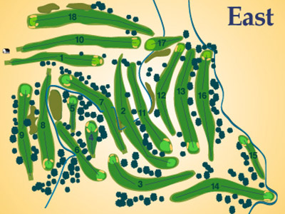 East Course