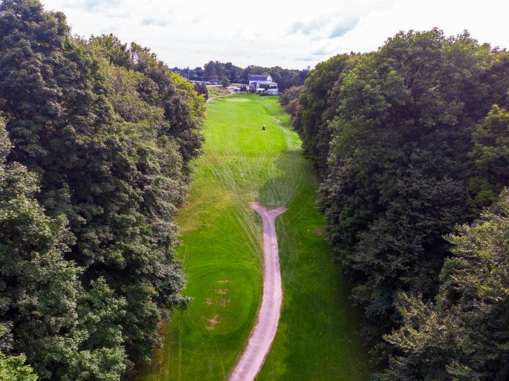 South Course - Hole 9 - 2